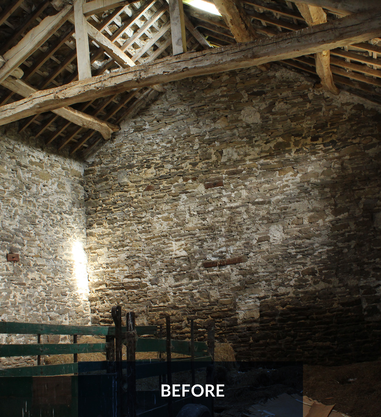 Higher Blaitwaite Barn - Before